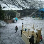 雪の造形展